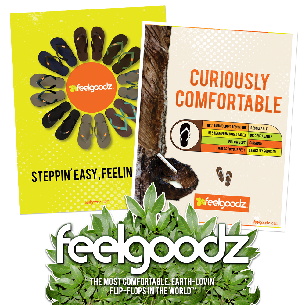 New Orleans Marketing Collateral - Print Advertising - Feel Goodz