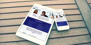 New Orleans Mobile Website Development and Design - Financia Funding Website