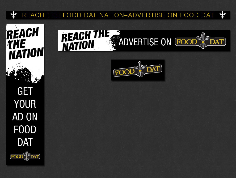 New Orleans Online Advertising - Banner Ads - Food Dat