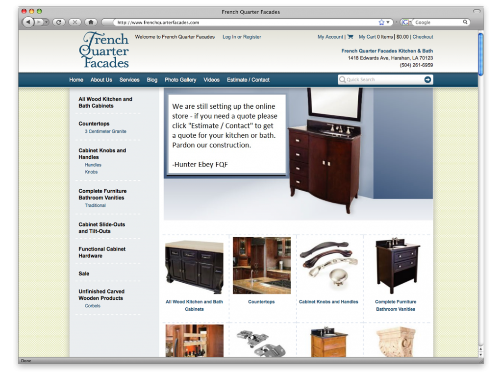 New Orleans Website Design and Development