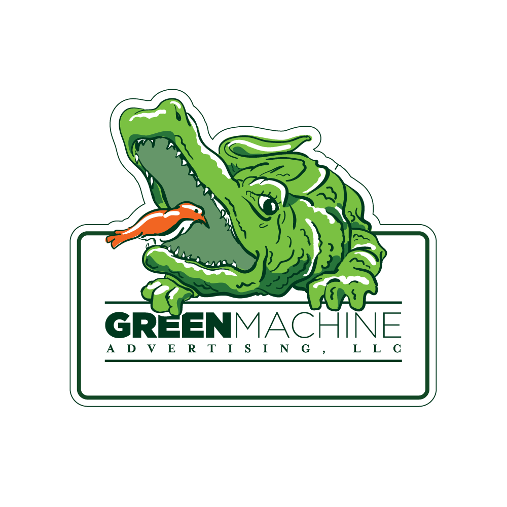 Identity and Logo Design - Green Machine Logo