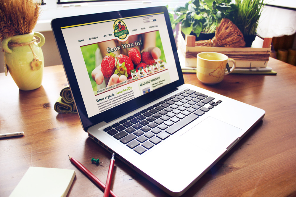New Orleans Website Development and Design - Healthy Plant Website