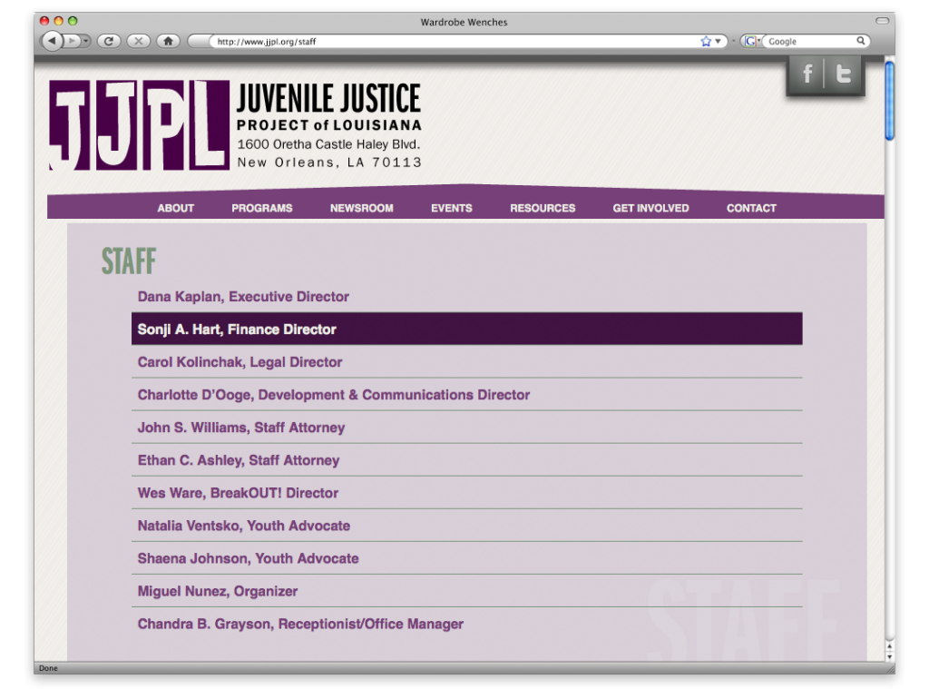 JJPL Website Design and Development