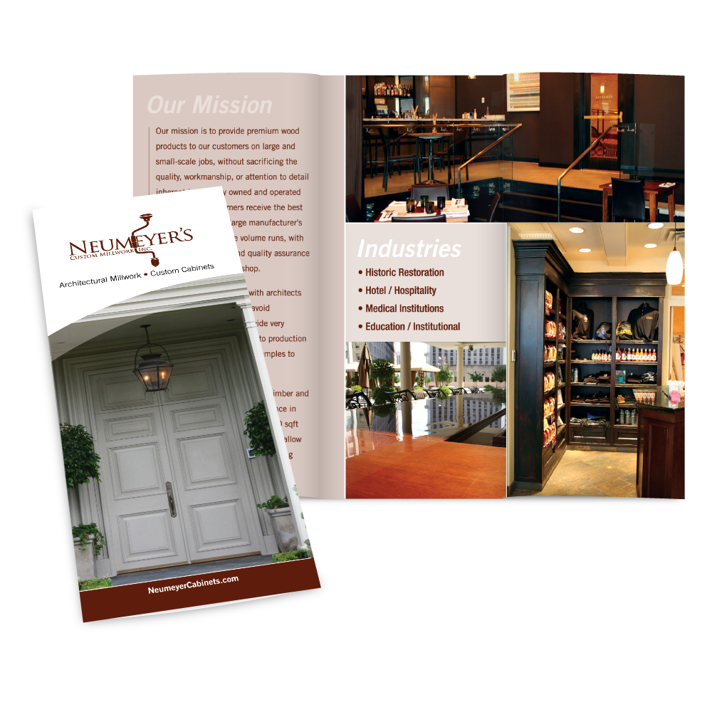 Marketing Collateral Design - Neumeyers Trifold