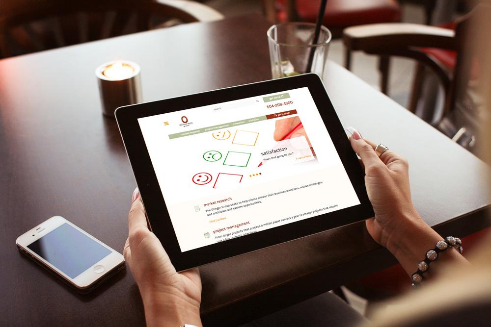 Louisiana Mobile Website Design - The Olinger Group