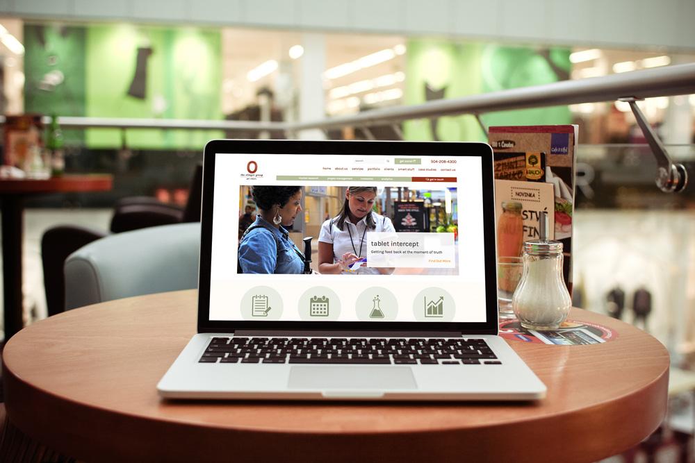 Website Design and Development - The Olinger Group