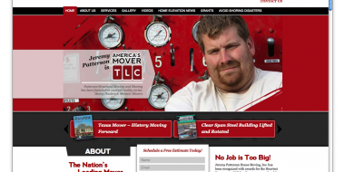 New Orleans Website Design and Develop - Patterson Shoring Website