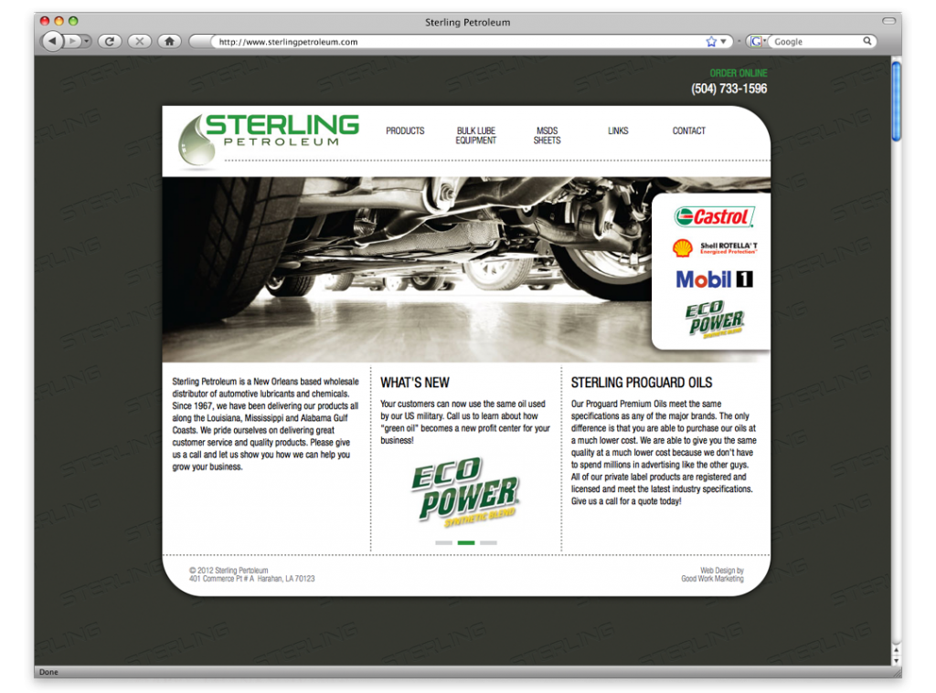 Website Design and Development - Sterling Website