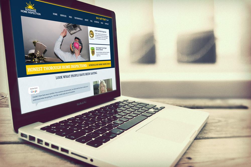 New Orleans Website Design Website Development Sunshine Home