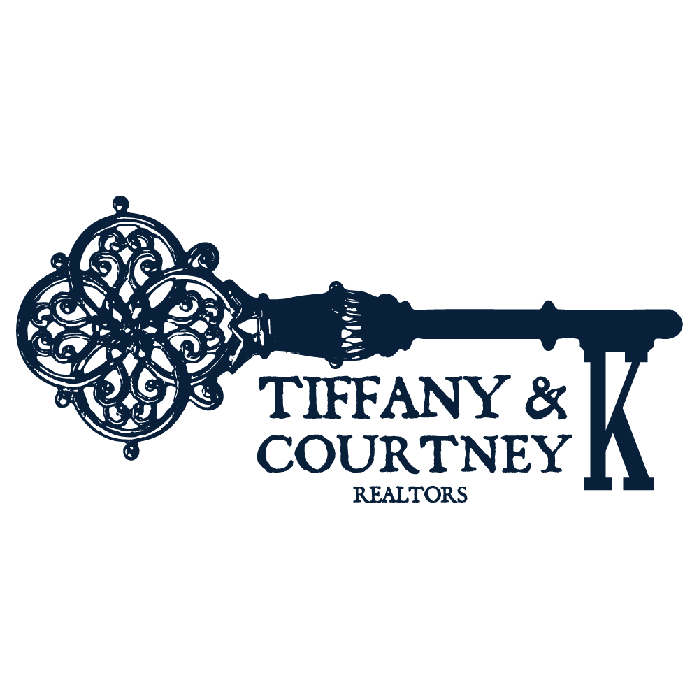 Tiffany and Courtney K Realtors Logo Design