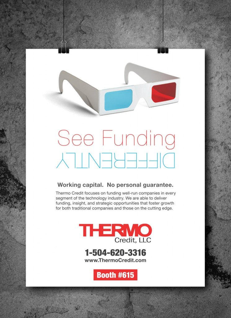 New Orleans Creative Advertising - Thermo Credit Convention Print Ad