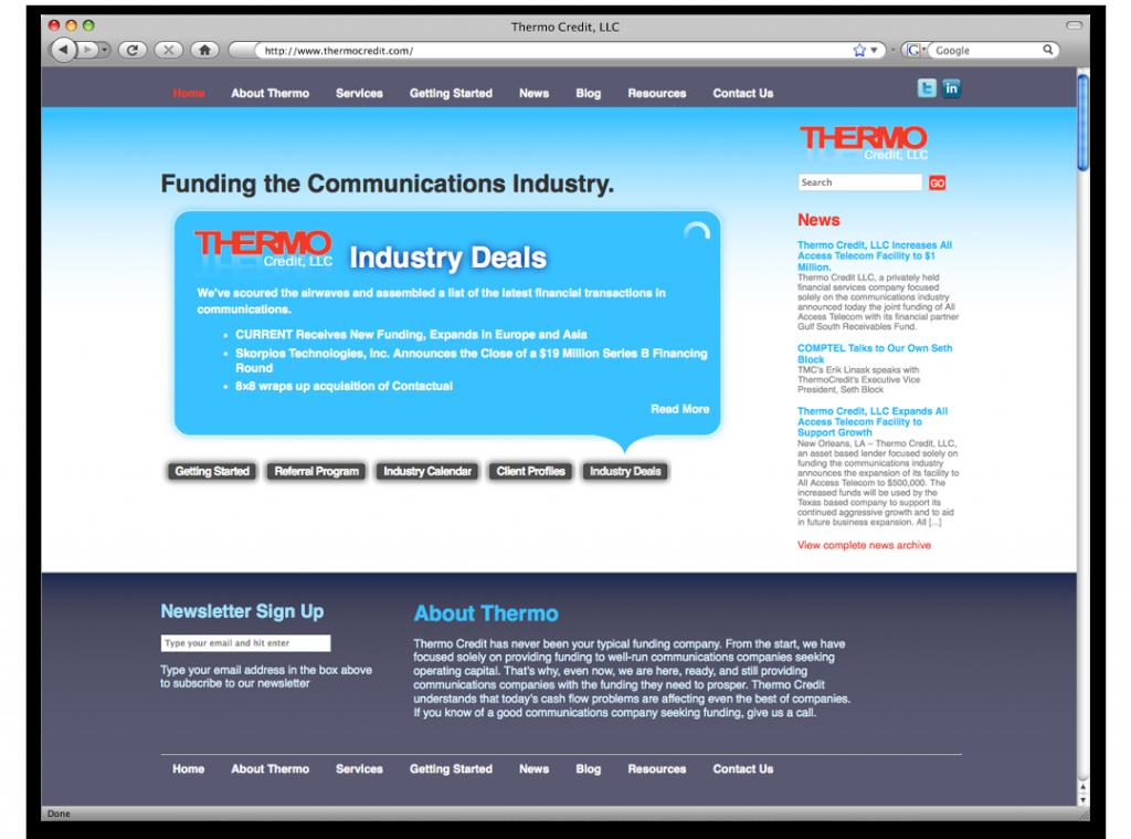 Website Development Design - Louisiana
