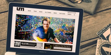 New Orleans Website Development and Design - Umphrey's McGee Website