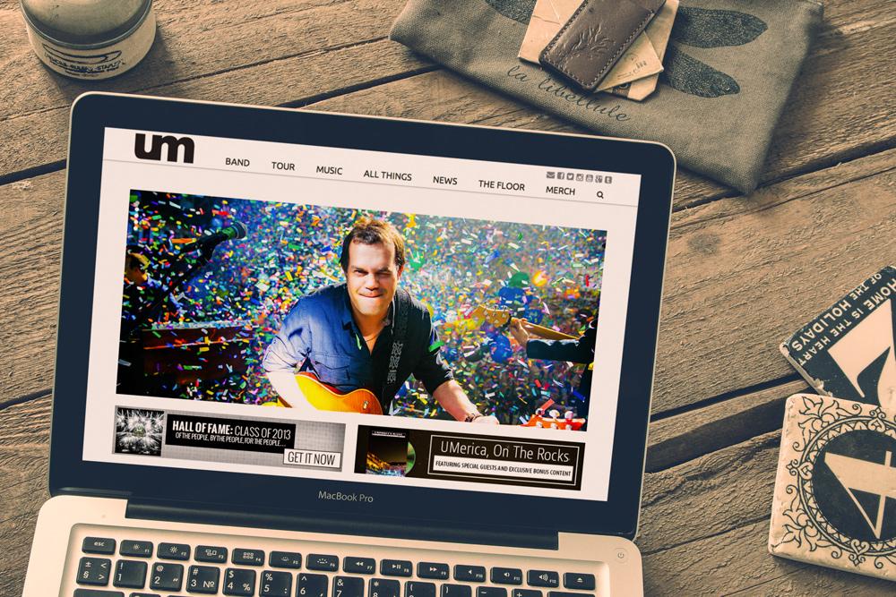 New Orleans Website Development and Design - Umphrey's McGee Website