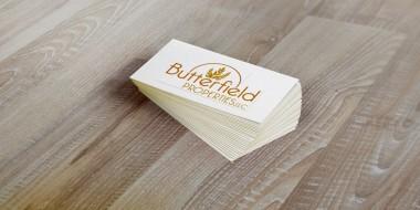 Business Card Designs - Butterfield Properties Logo Design New Orleans