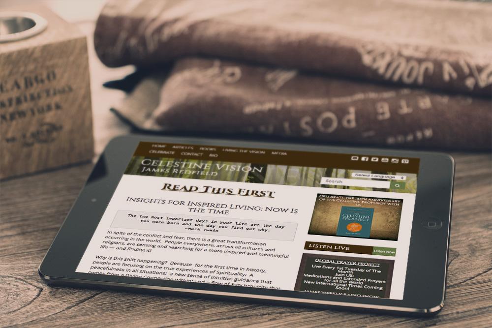 Website Design and Development - Celestine Vision