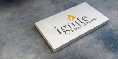 New Orleans Identity and Logo Design - Ignite Investments and Planning