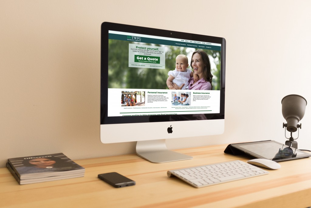 New Orleans Mobile Website Design and Development - TWFG Insurance Website