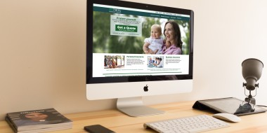 New Orleans Mobile Website Design and Development - TWFG Insurance Website
