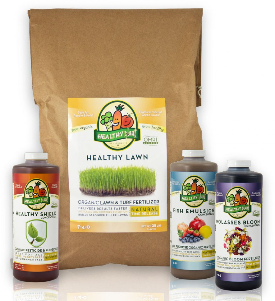 Healthy Plant Product Line - Package Desgin
