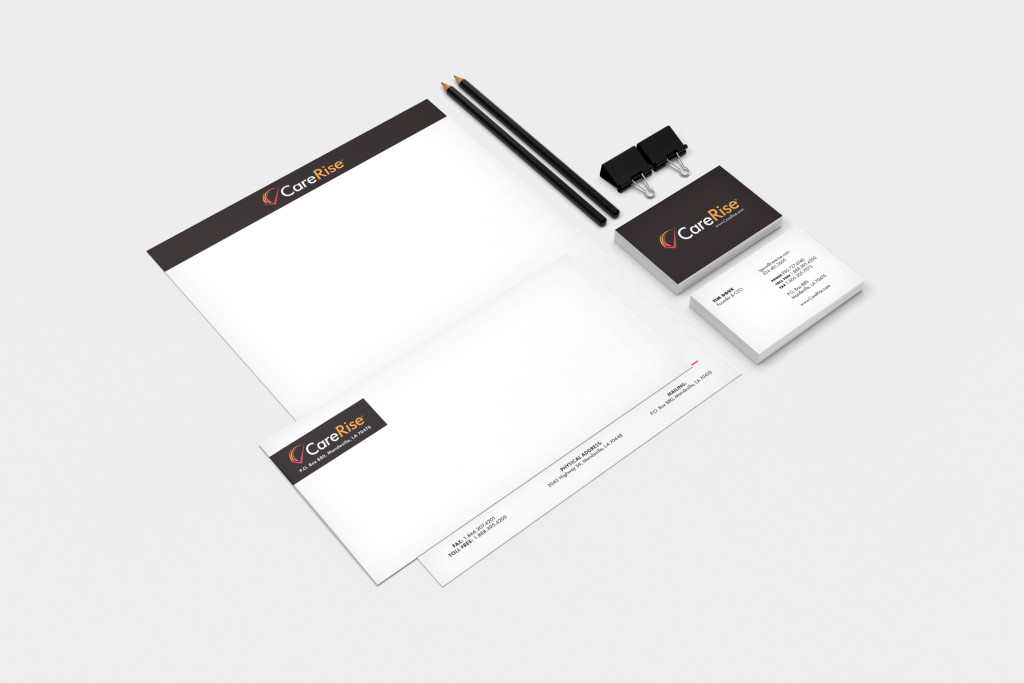 Stationery Marketing Collateral - CareRise