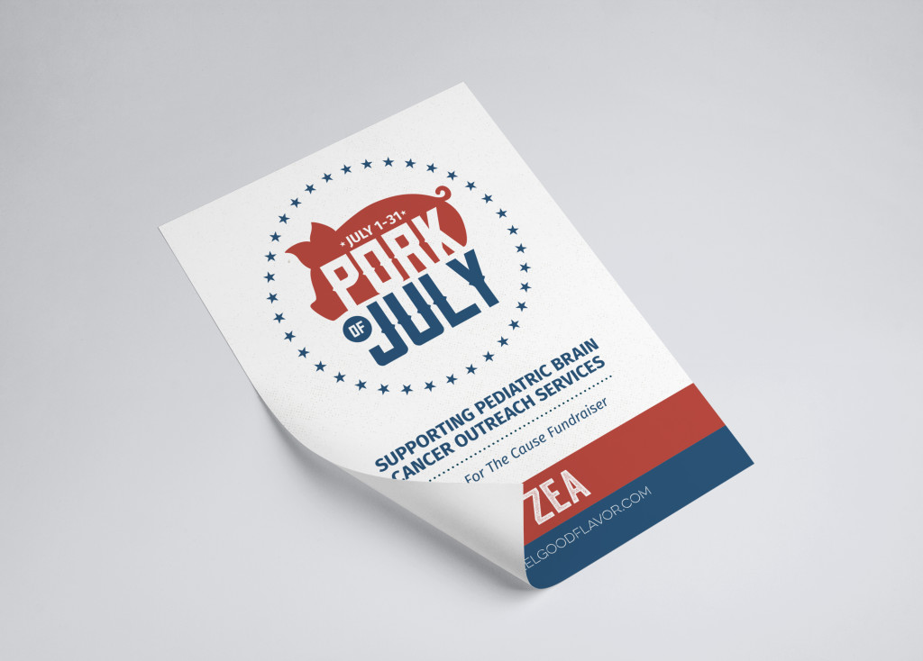 Printed Marketing Collateral Flyer - Zea