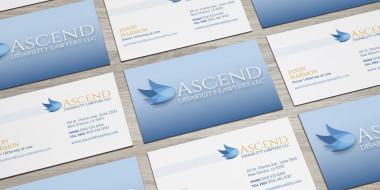 Ascend Business Card Design - New Orleans Graphic Design