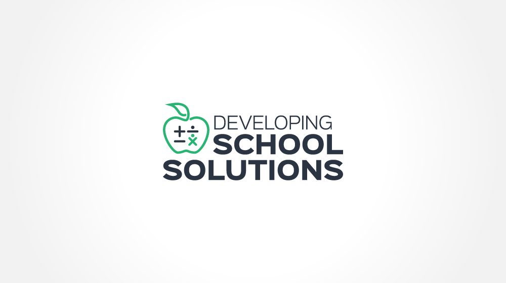 Custom Logo Designs - Developing School Solutions Logo