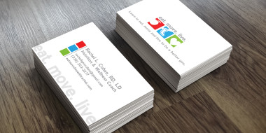 Custom Business Card Designs - New Orleans - Eat. Move. Live.