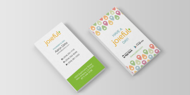 Custom Business Cards - Joieful Business Cards