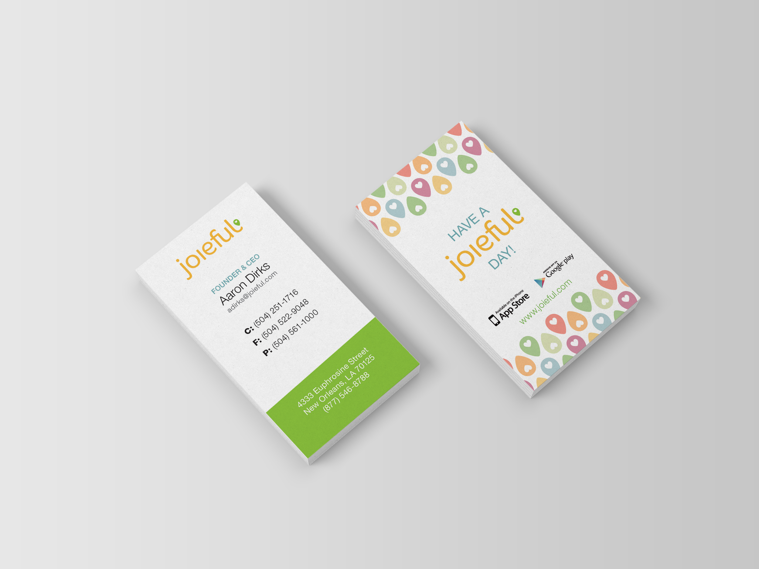 Custom Business Cards | Graphic Design | Good Work Marketing | New ...