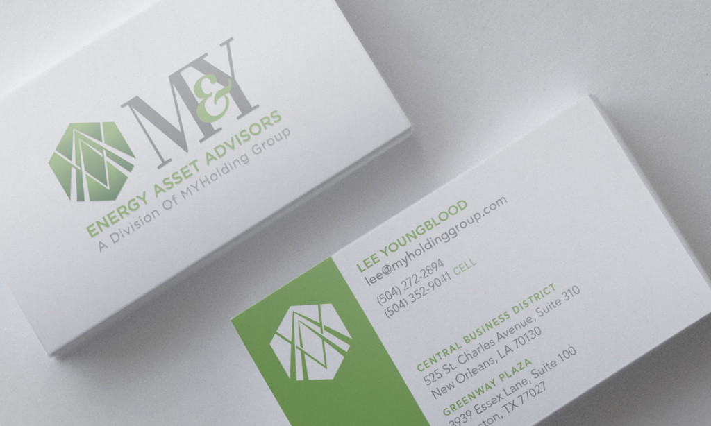 Business Card Designs - MYHolding Group Business Cards