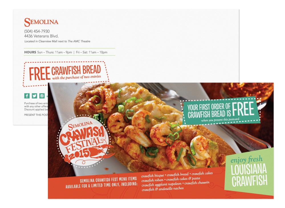 Marketing Collateral Design - Postcard
