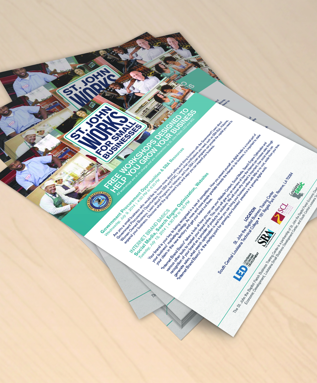 Marketing Collateral Design Flyer and Postcard Design – Marketing Flyer