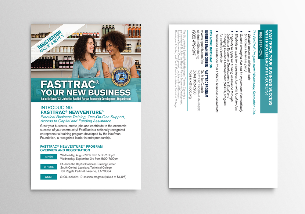 Creative Marketing Collateral Design - St John Parish Postcard Design