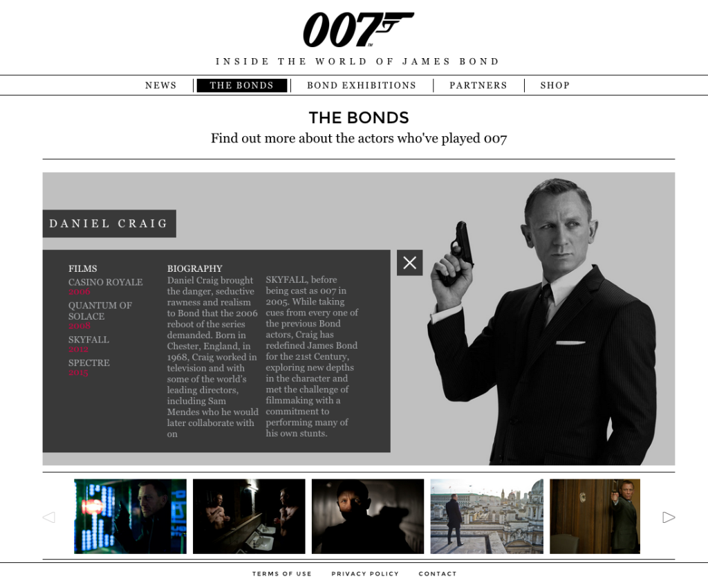 Why you need a WordPress Website - James Bond Website