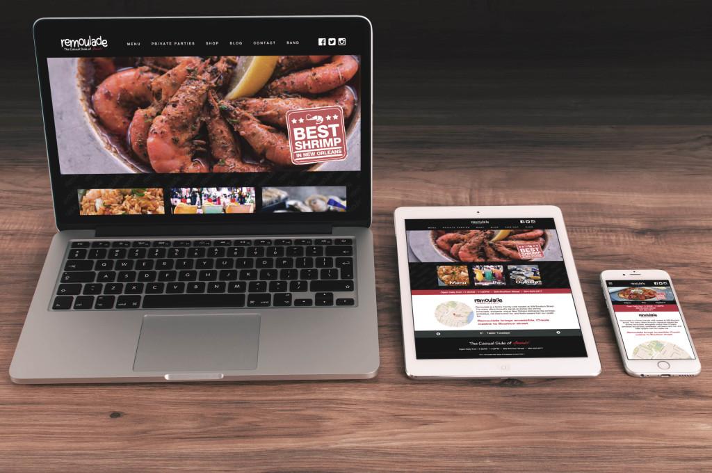 Remoulade Restaurant Website Design and Development - Custom WordPress Websites