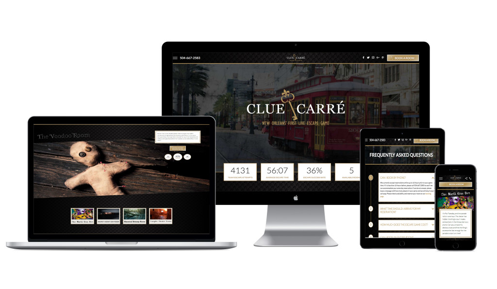 Clue Carre Website Design and Development
