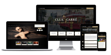Clue Carre Website Design and Development
