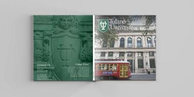Tulane Social Work Brochure Open