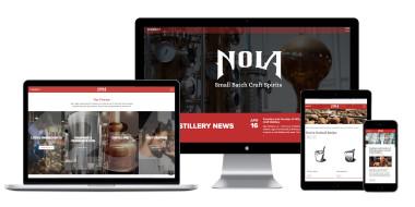 NOLA Distlling Website