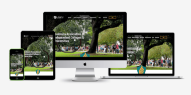 LAICU website showcase - Good Work Marketing
