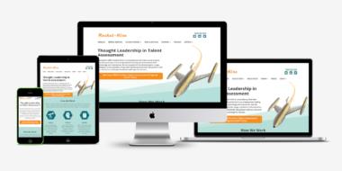 Rocket-Hire website showcase - Good Work Marketing