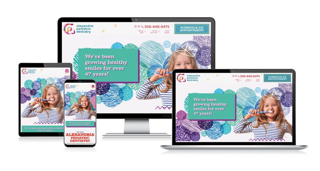 APD website design and development