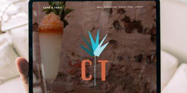 Cane and table Logo Design Showcase
