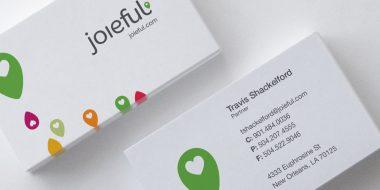 Joieful Business Card Update