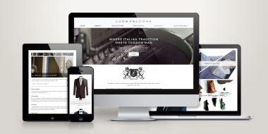 Luca Falcone Website Design + Development
