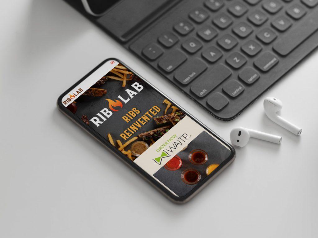 RibLab Logo Design and Website Development