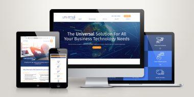 Universal ComOne Website Design and Development