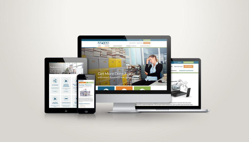 Apyxx website design and development